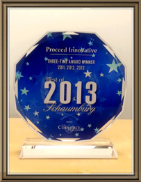 Proceed Innovative, a Digital Marketing Company, Receives 2012 Best of Schaumburg Award