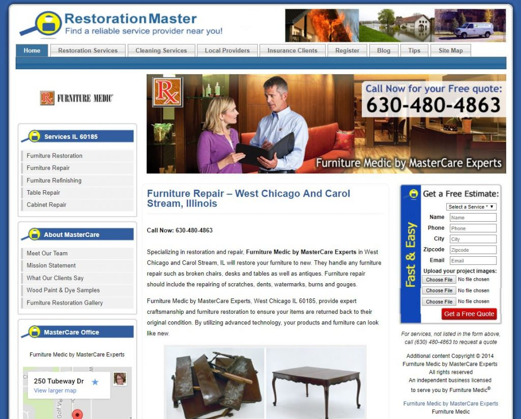 furnituremedic rmf case study