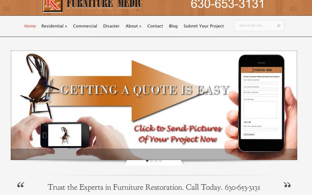 Furniture Medic by MasterCare Experts Launched New Contemporary Website Developed by Proceed Innovative