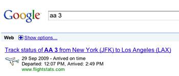 google-flighttracker