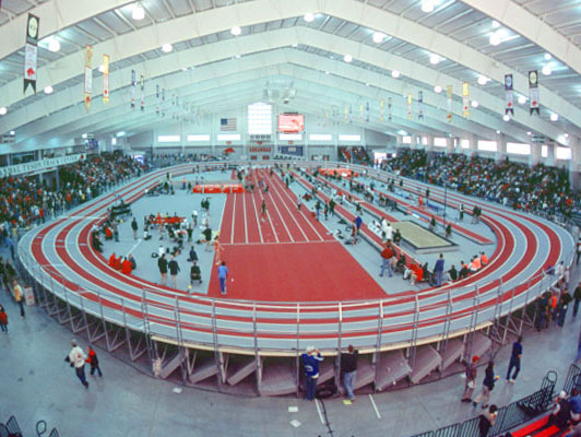 University of Arkansas Location: Fayetteville, AR Project: Randal Tyson Track Center Product(s) Used: Mondo Super X Performance