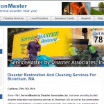 ServiceMaster by Disaster Associates in Stoneham, MA