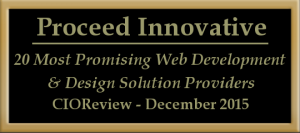 proceed web design award