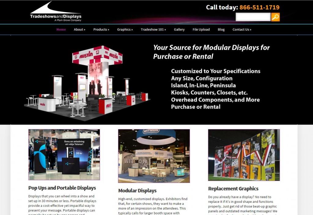 tradeshowsanddisplays.com - new webiste