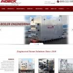 Indeck - web design project
