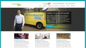 ServiceMaster DAK – SEO and Web Design case study