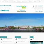 ServiceMaster NCR - SEO web design project