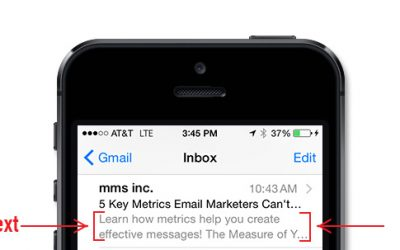 The Importance of Email Preview Text