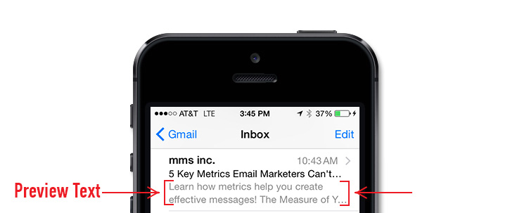 email preview text