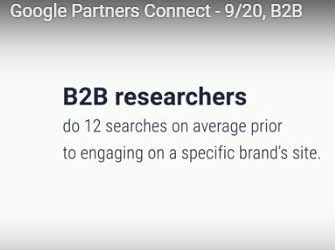 Improve your B2B Digital Marketing Strategy: Google Partners Connect Presentation
