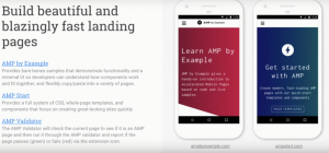 fast landing pages