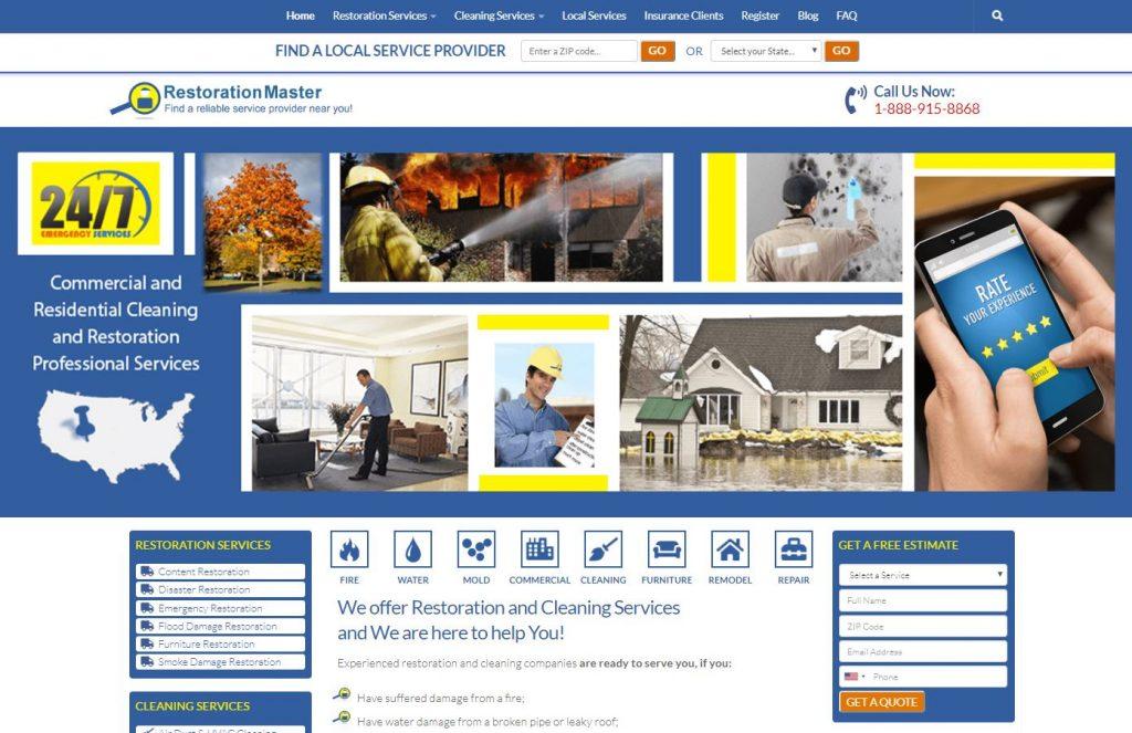 restorationmasterfinder.com
