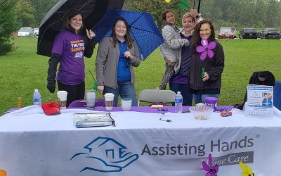 Proceed Innovative and Assisting Hands Home Care Team Up for the Walk to End Alzheimer's