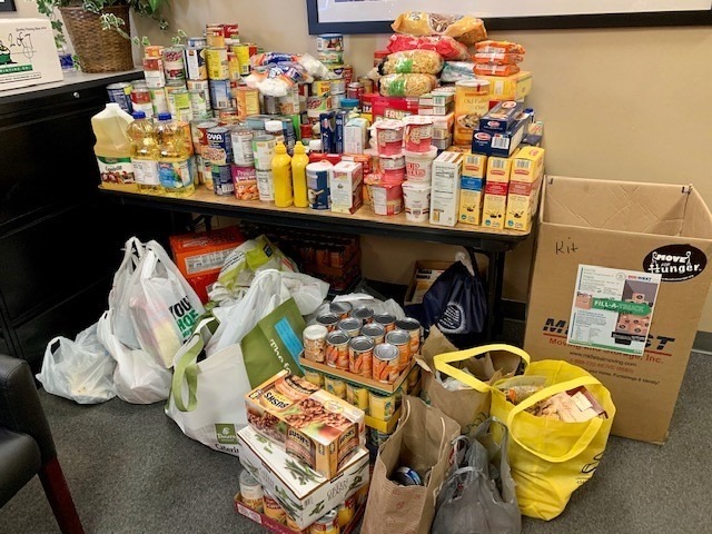 Mid-West Moving Puts on Fill A Truck Virtual Food Drive
