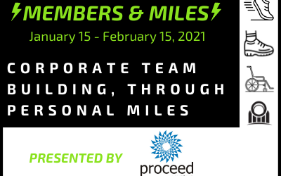 Proceed Innovative is the Presenting Sponsor for the Members & Miles Virtual Mile Competition
