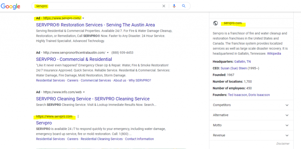 GMB on Google